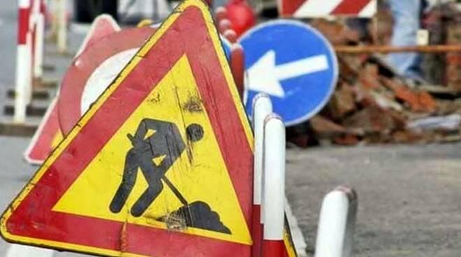 lavori stradali cantiere