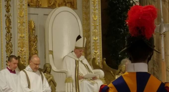 papa basilica di san paolo
