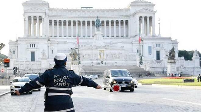 smog roma polizia municipale roma