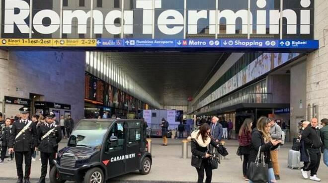 carabinieri stazione termini roma