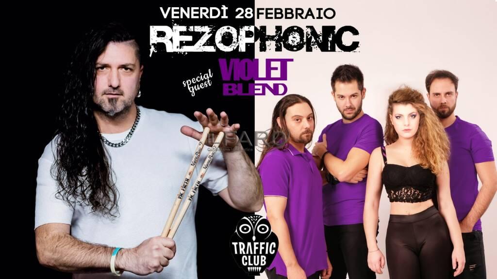Rezophonic & Violet Blend al Traffic Live - Roma