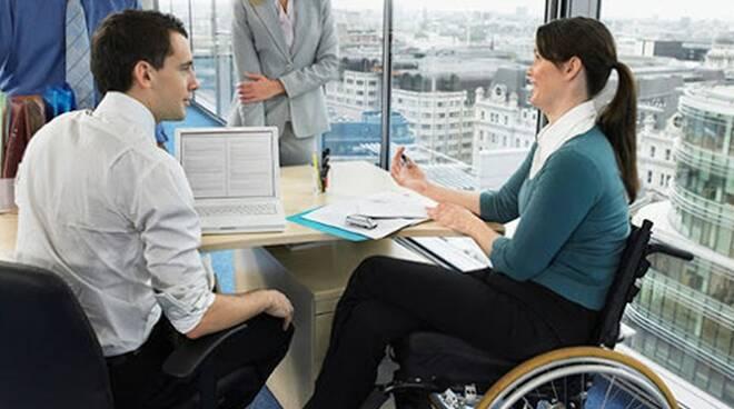 disabili al lavoro