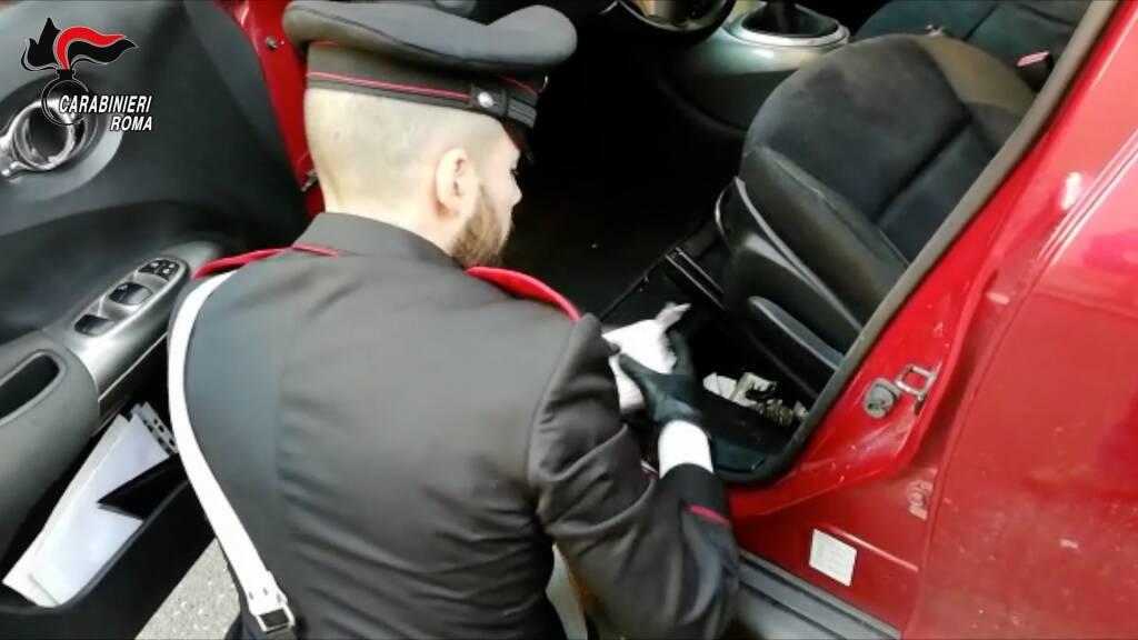 droga in macchina