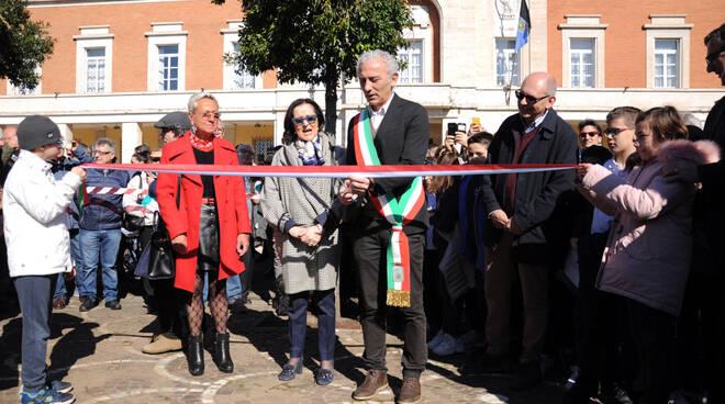 inaugurazione piazza del popolo
