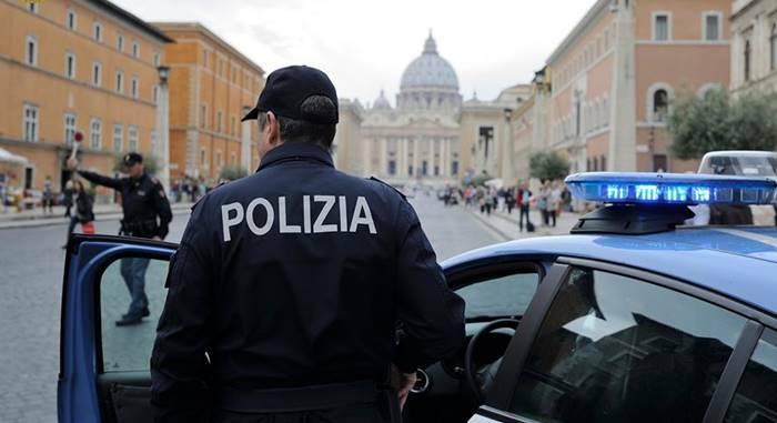 polizia roma san pietro vaticano sicurezza