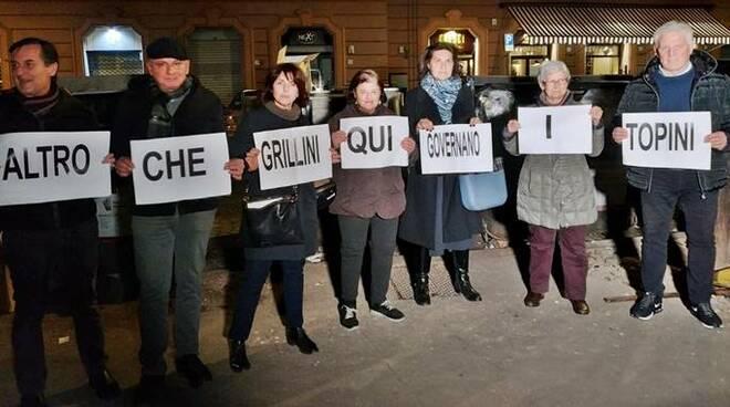 protesta topi cittadini roma