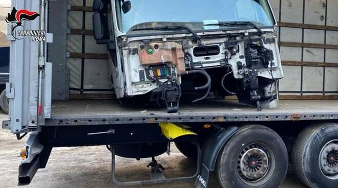 riciclaggio veicoli pomezia