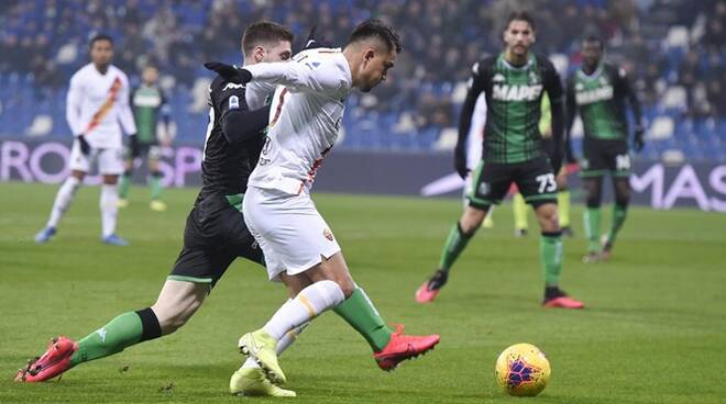 Serie A Tim a.s. Roma us Sassuolo