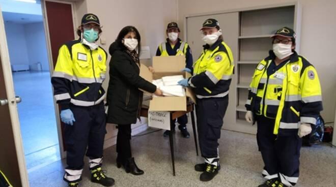 250 mascherine per Terracina, il gesto della famiglia di Gabriele Orlandi