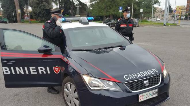 carabinieri roma coroanvirus