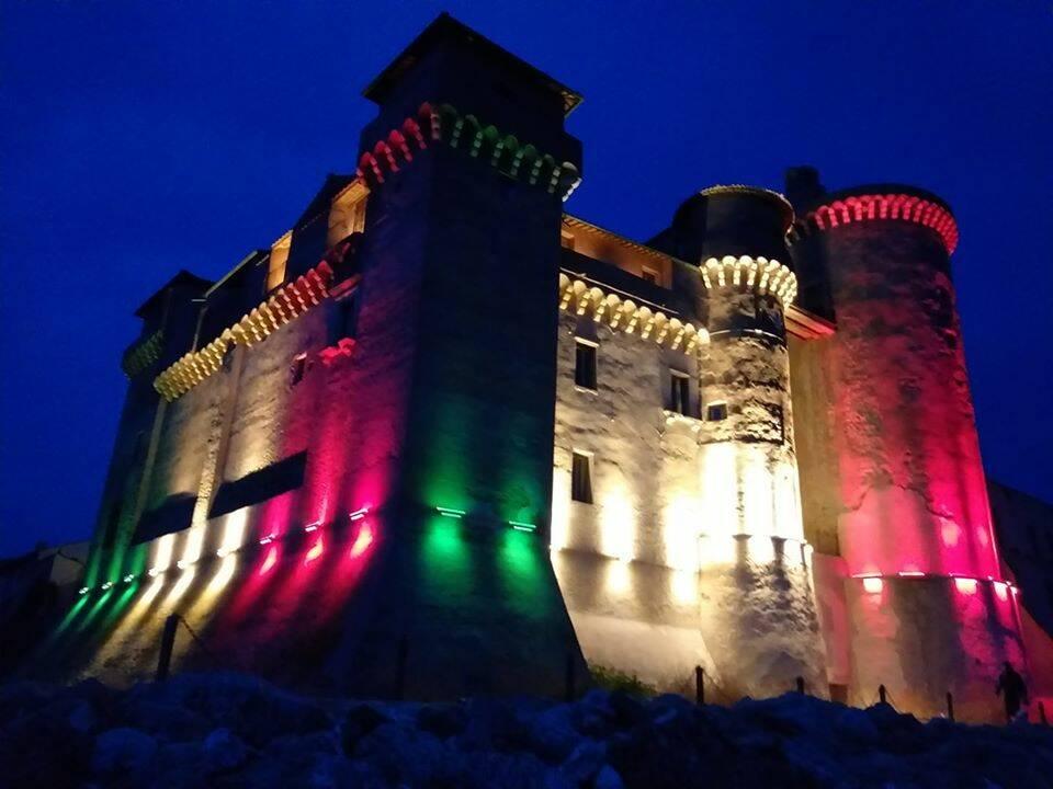 castello di santa severa tricolore