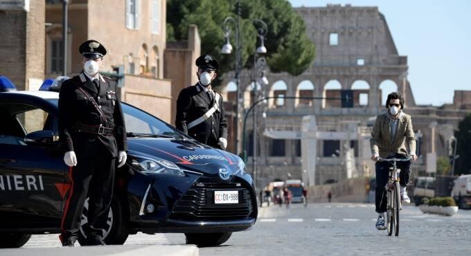 controlli carabinieri coronavirus roma