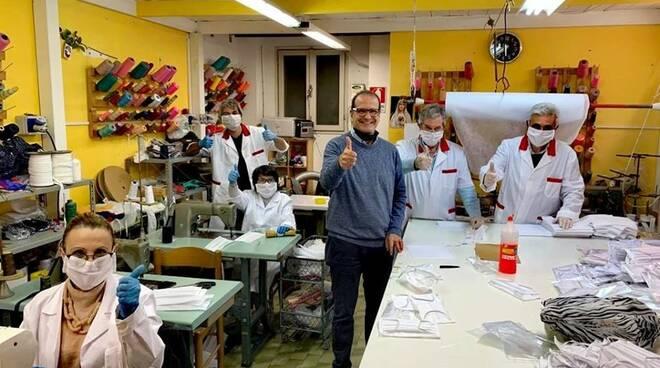 Coronavirus, arrivano le mascherine made in Gaeta