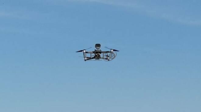 drone spiagge fiumicino