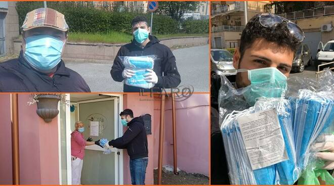 lega XIII municipio, consegna mascherine