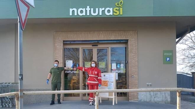 NaturaSì Fiumicino aiuta la Croce Rossa