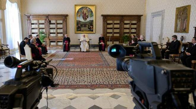 papa francesco udienza streaming coronavirus