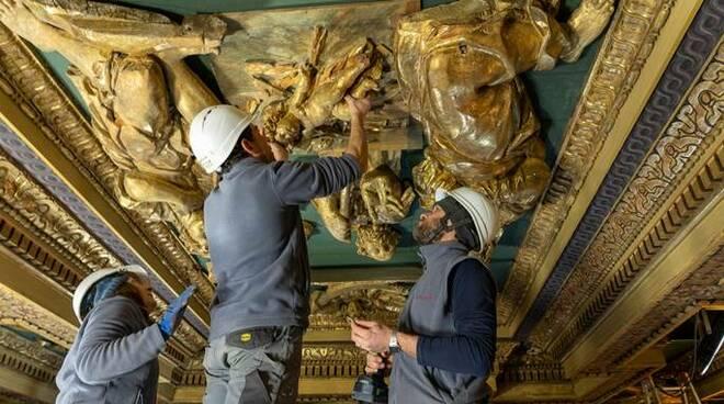restauro san giuseppe dei falegnami roma