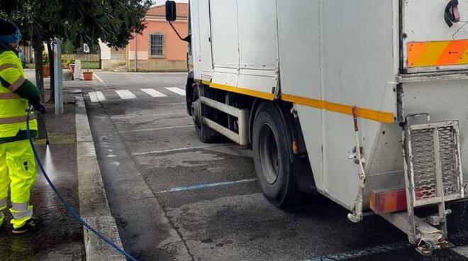 sanificazione strade coronavirus