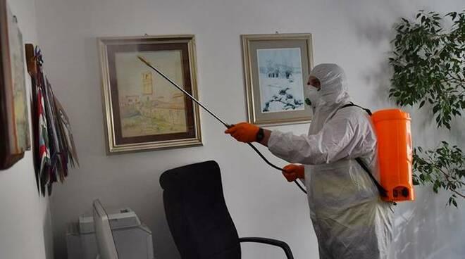 sanificazione uffici coronavirus