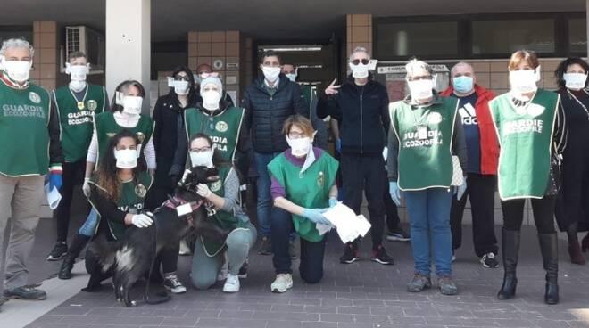 donazione mascherine pro vita e famiglia a ladispoli