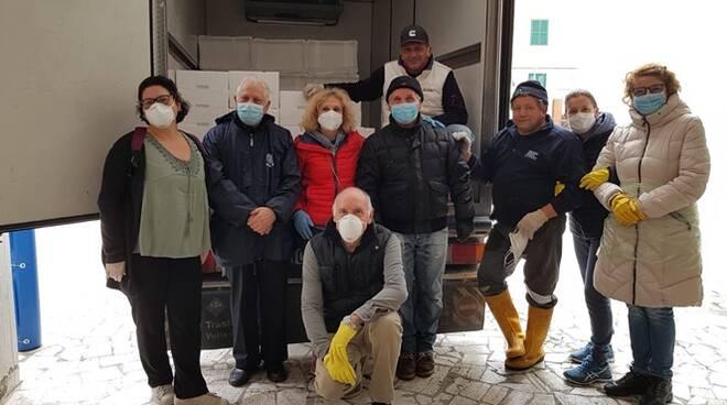 donazione pescatori anzio