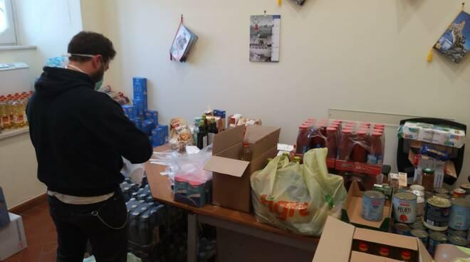 donazioni alimentari anzio