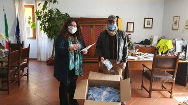 Formia ai tempi del Coronavirus: consegnate quasi 500 mascherine in 2 giorni