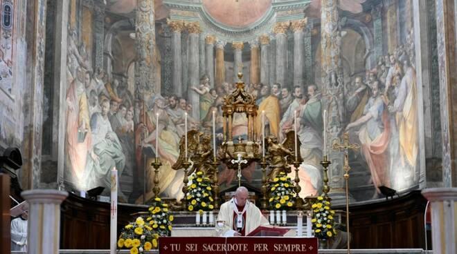 papa francesco santo spirito in sassia