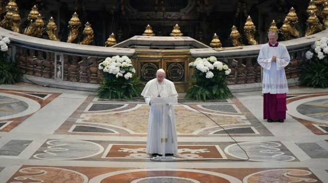papa francesco urbi et orbi pasqua 2020