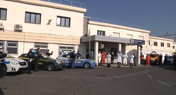 sirene medici aeroporto fiumicino