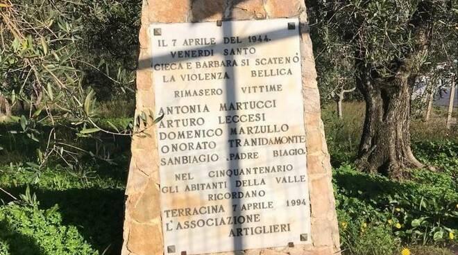 Terracina, l'Anpi ricorda le vittime dell'eccidio di San Silviano