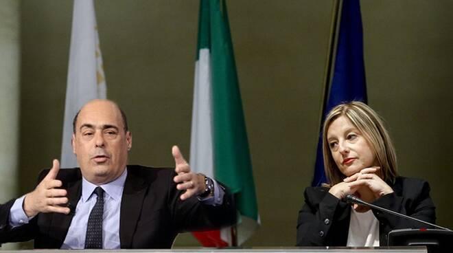 Zingaretti e Lombardi