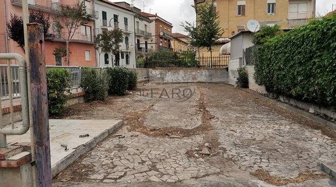 discarica bonificata via roma a scauri