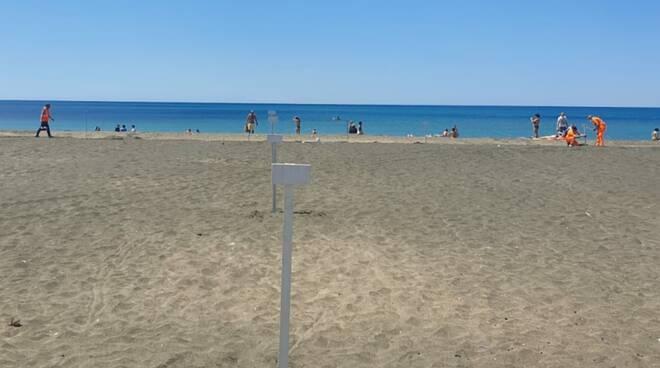 Piazzole spiagge Ostia