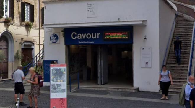 metropolitana Roma Cavour