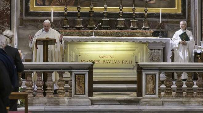 papa francesco san giovanni paolo ii