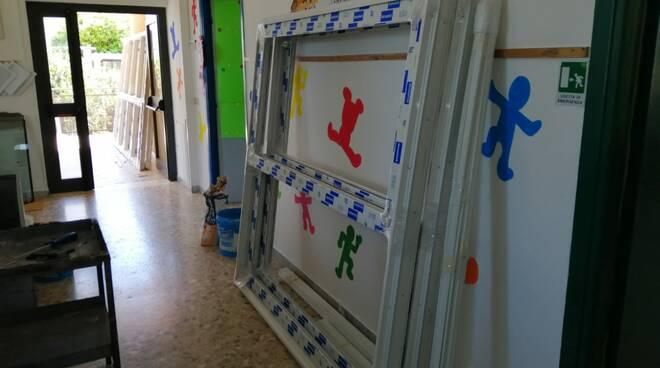 Sabaudia, scuola dell'infanzia a Mezzomonte