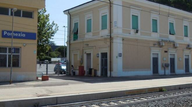 Santa Palomba stazione Pomezia