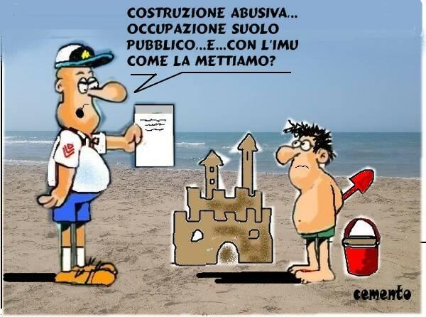 vignetta spiaggia