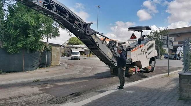 asfalto fiumicino