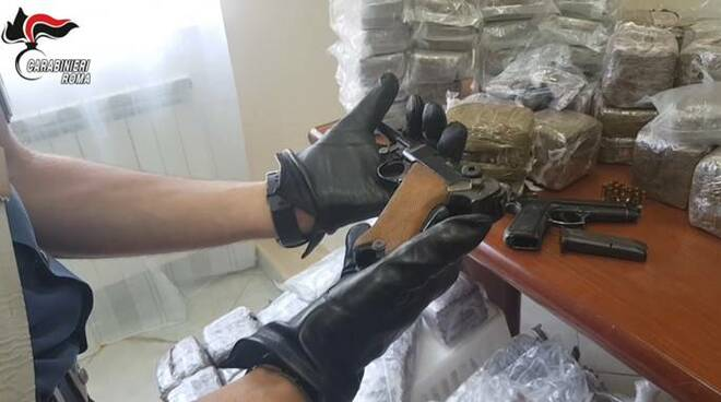 Traffico droga Spagna-Italia, il blitz di carabinieri e guardia civil