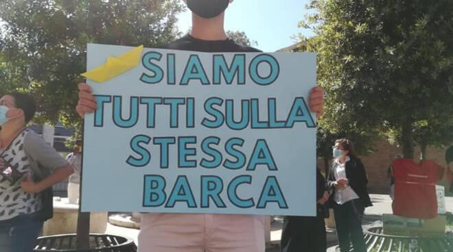 Flash mob Pomezia