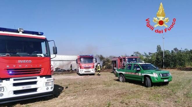 pompieri vigili del fuoco latina