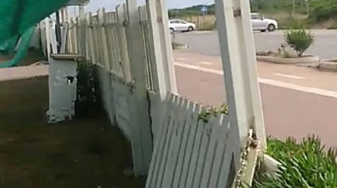 Stabilimento Ondina raid vandalico