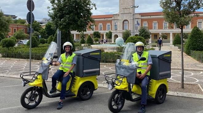 tricicli elettrici poste italiane latina