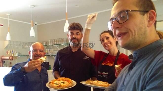 """A Formia approda la """"pizzeria educativa"""", la novità di Pucci e Manella"""