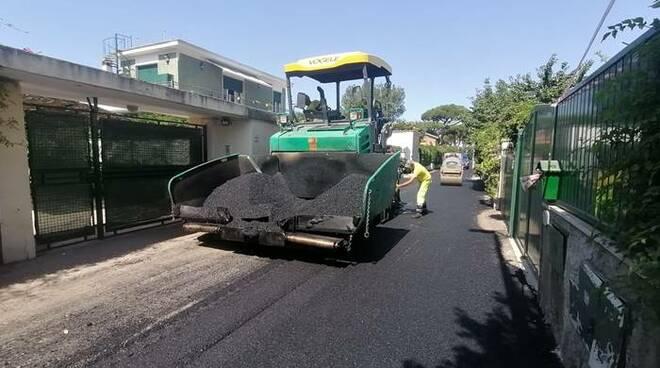 asfaltatura fregene