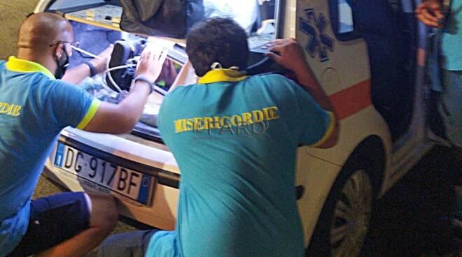 auto medica misericordia di fiumicino