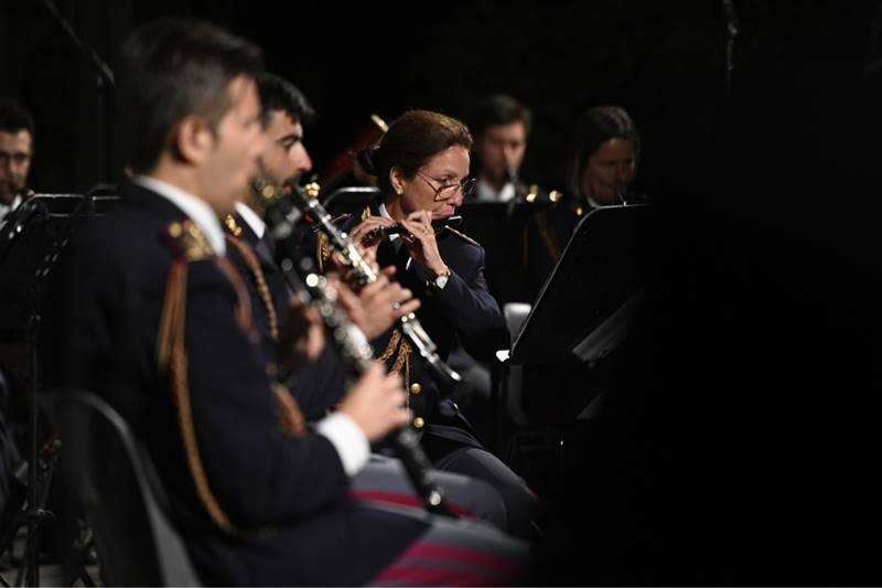 castello Santa Severa concerto-omaggio banda della Polizia di Stato a Ennio Morricone